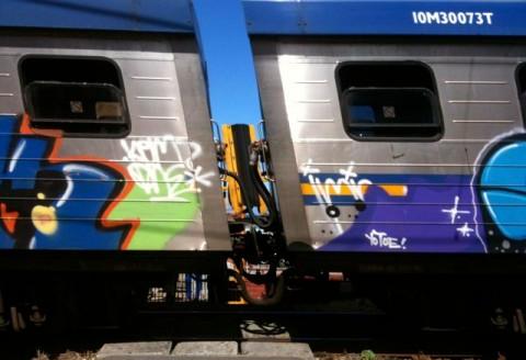 Train in Muizenberg
