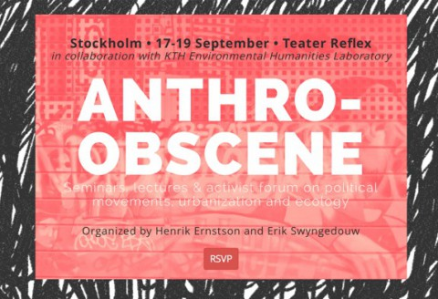 Book Project: The Anthropo-obScene
