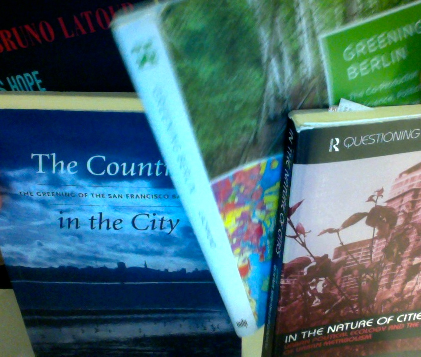 Books on urban ecology