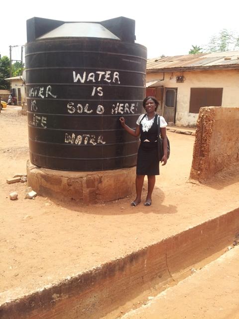 Elizabeth Dapaah in Ghana