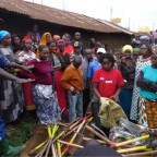 Ibrahim Maina, Community Clean-Up, KPSP04, Kibera in Nairobi.