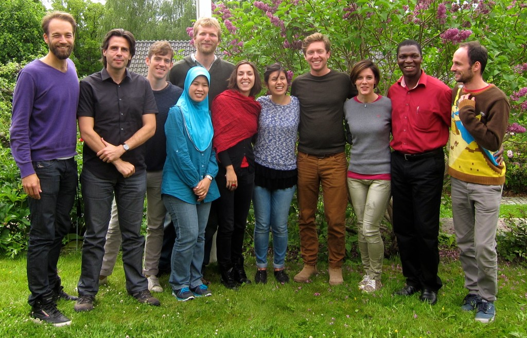 PhD students on the course 'Urban Ecology as Science, Culture and Power', 10-14 June 2013 in Stockholm.