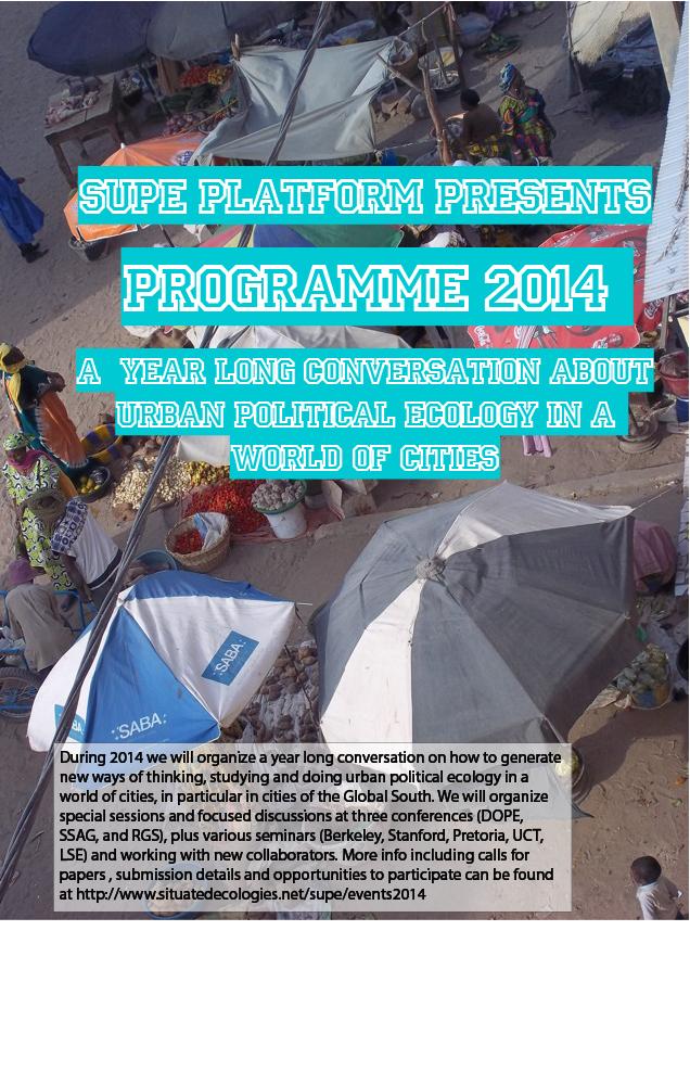 SUPE 2014 Programme - Flyer v3