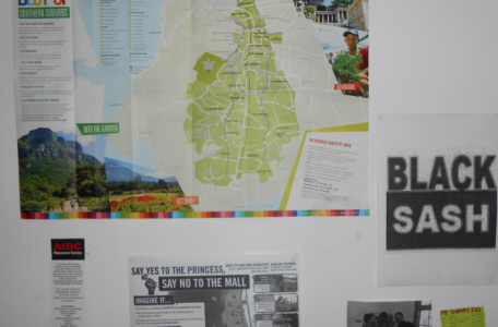 Materials from the civic associations in Cape Town.